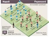Deze elf moeten het gaan doen voor Feyenoord