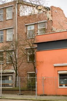 Asbest dwarsligger bij Labrehuis in Eindhoven