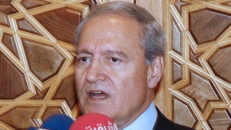 De Syrische vicepresident Farouq al-Sharaa Beeld epa