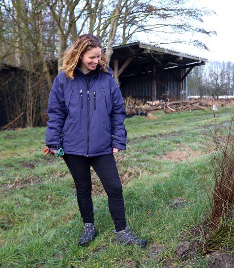 Sanne Elenbaas wil met 'nakomelingen' van bomen een voedselbos planten