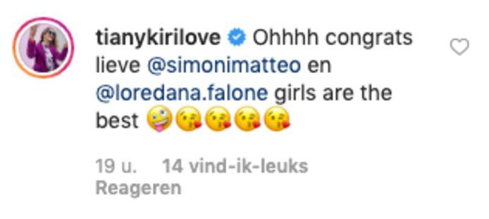 Felicitaties BV's baby Matteo Simoni