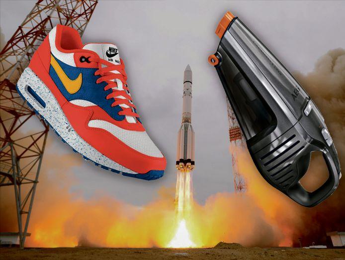 Kennis vergaart dankzij de ruimtevaart wordt vandaag de dag volop gebruikt bij het ontwikkelen van producten.