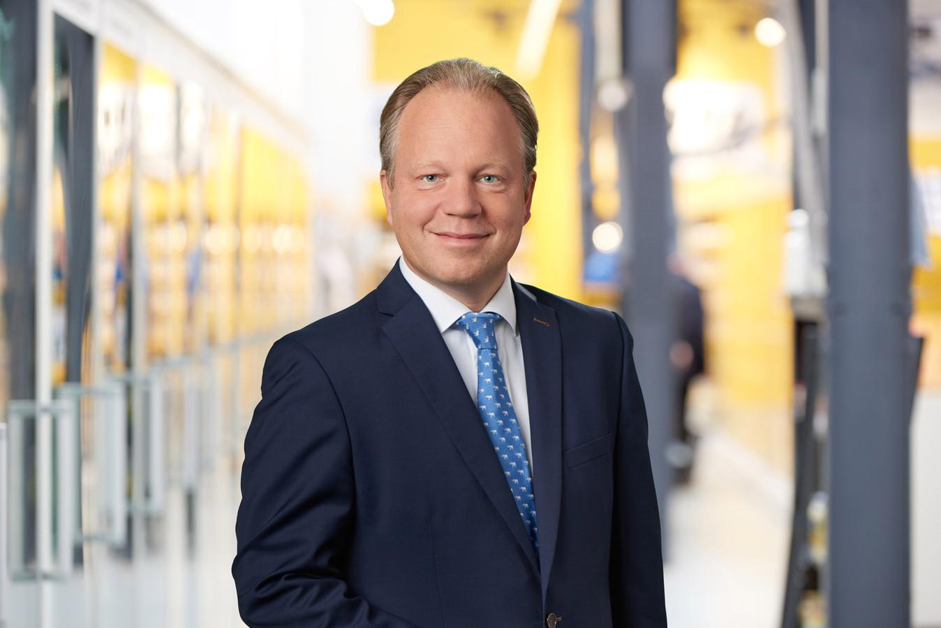 Ton van Veen, financieel directeur en lid van de raad van bestuur van supermarktketen en familiebedrijf Jumbo.
