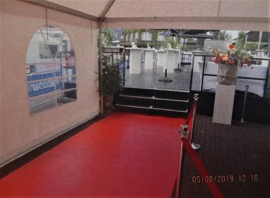 De VIP-ruimte bij de Draai was niet toegankelijk voor rolstoelen.