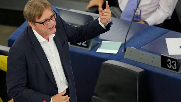 Guy Verhofstadt. Beeld REUTERS
