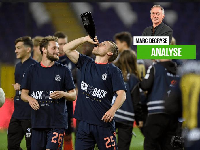 Marc Degryse over de titel van Club Brugge.