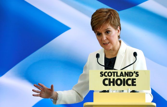 De Schotse premier Nicola Sturgeon