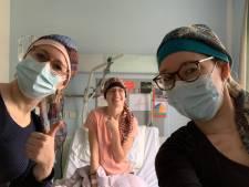 Zussenbloed kan leukemiepatiënt Marion (23) niet redden: 'Dus maken we ons sterk voor stamceldonatie'