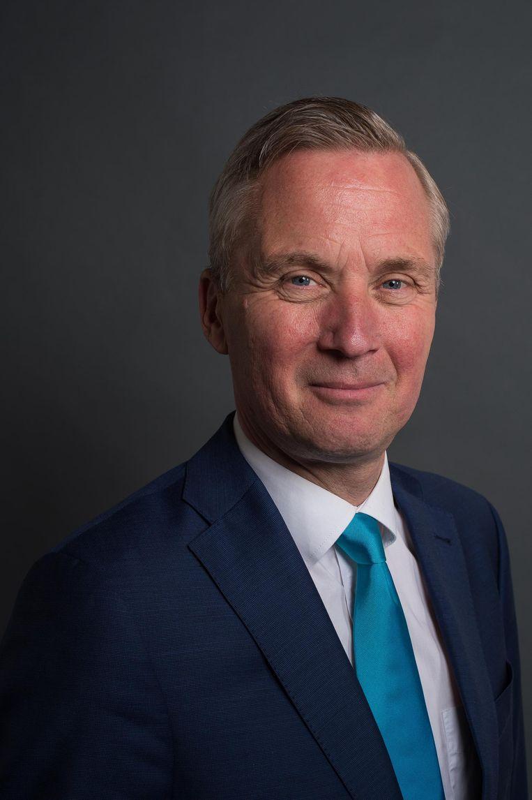 Eruc van der Burg, lijsttrekker VVD Amsterdam Beeld Mats van Soolingen