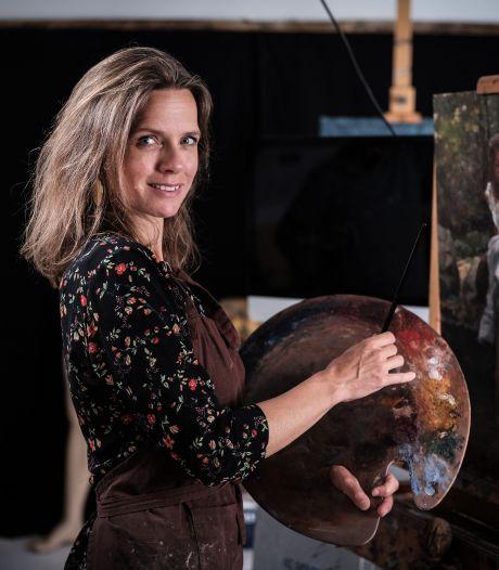 Doesburgse schildert Minis voor Sterren op het Doek: 'Ik kende haar niet'