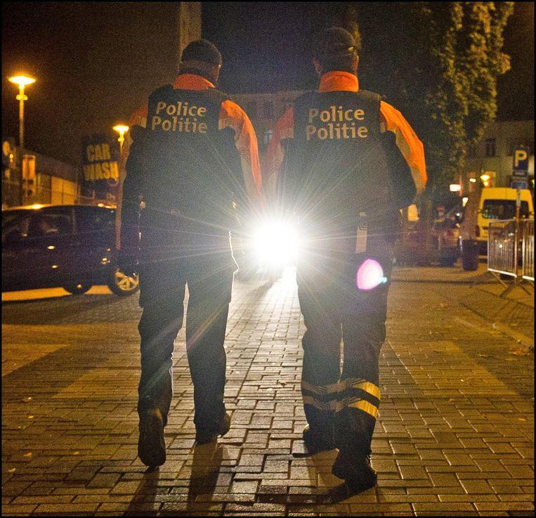 Politie in Brussel (archiefbeeld).