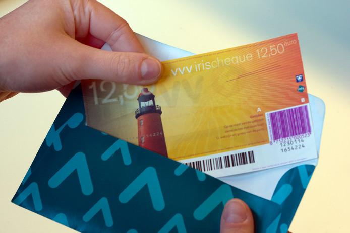 VVV-cheque. Foto ter illustratie.