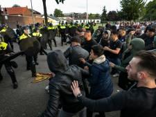Relschoppers tijdens Pegida-demonstratie in Eindhoven komen in oktober voor de rechter