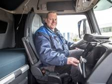Truckchauffeur heeft zo een baan