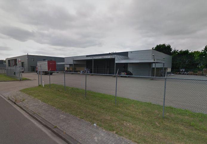 De nieuwe corona-testlocatie van de GGD in Zutphen aan de Loohorst 6.