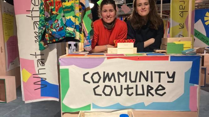 Community creëren met stukjes stof en quotes