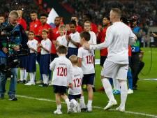 Groots afscheid bij Engeland voor Rooney