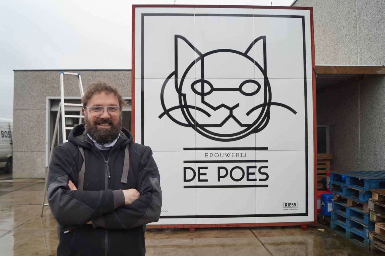 Stijn David van Brouwerij De Poes viel opnieuw in de prijzen met z'n bieren.