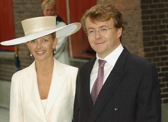 Prins Johan Friso en prinses Mabel, archieffoto uit 2004.