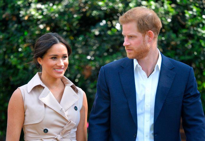Prins Harry en Meghan Markle.