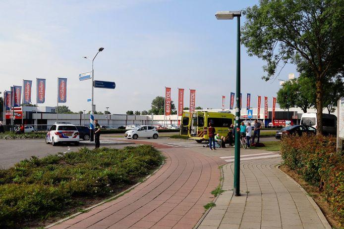 Het ongeluk in Cuijk.