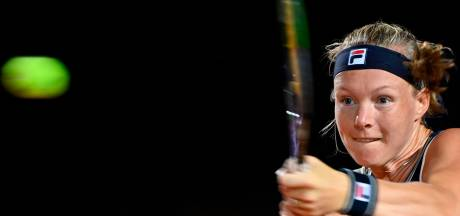 Kiki Bertens ook in tweede duel van 2021 hard onderuit
