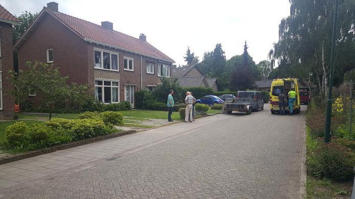 Het betreffende huis aan de Souvereingaarde in Cuijk.