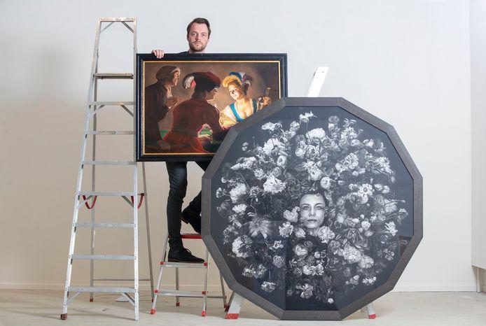 Martijn Versteeg houdt een expositie in de Cultuurfabriek in Veenendaal.