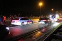 De politie achtervolgde vorige week een gevluchte gokker vanuit Rijswijk en hield die op de A4 bij Hoogmade aan.