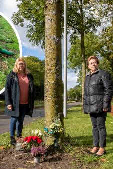 Monumentje voor overleden Cornelia (47) vernield, zussen verdrietig: 'Blijf daar alsjeblieft vanaf'