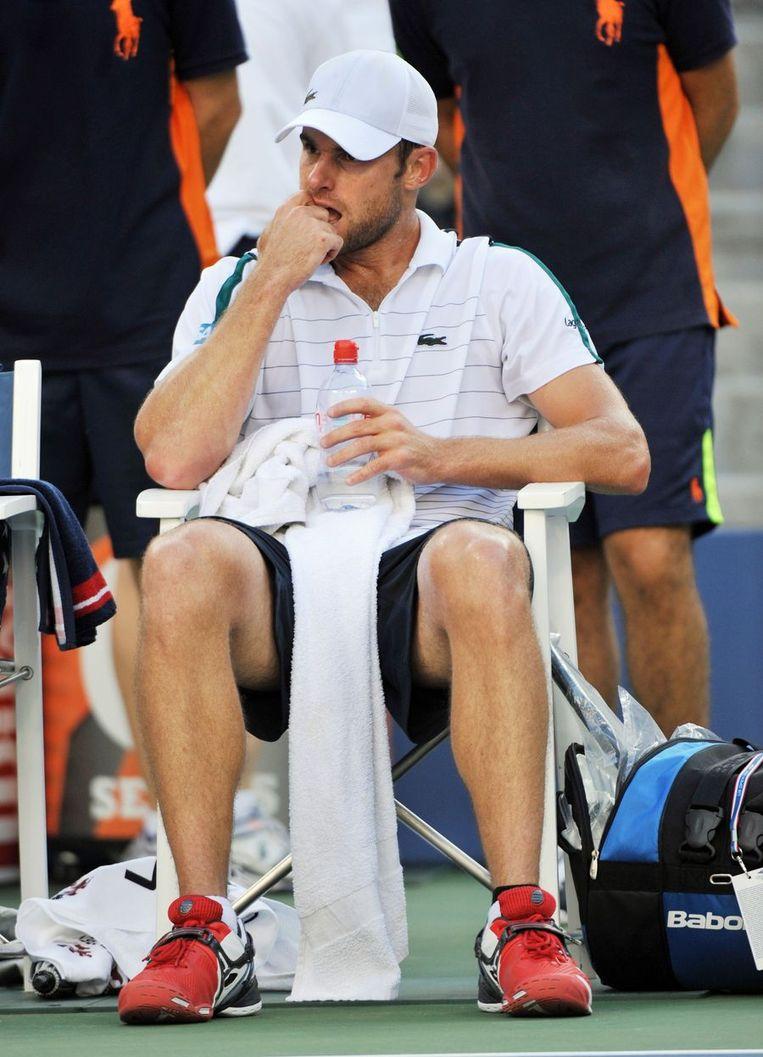 Andy Roddick. Beeld afp