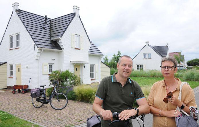 Wim Van Bouchaute (49) en Vanessa Heye (47) uit Wachtebeke