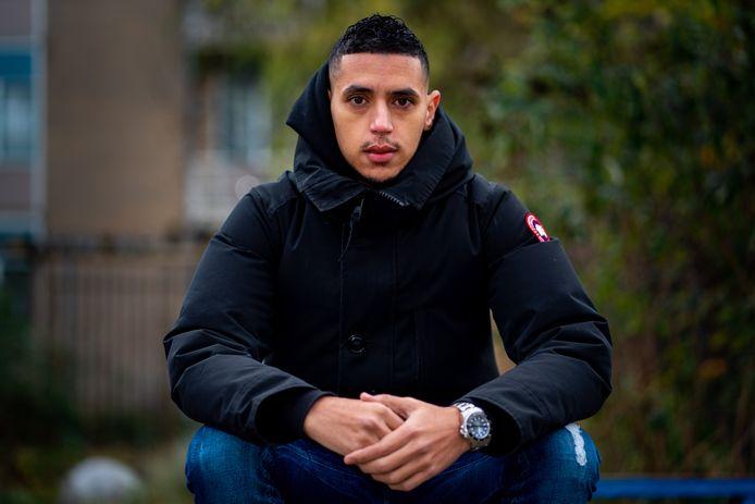 Karim Mossaoui in Nederland even weg van de hectiek in Indonesië.