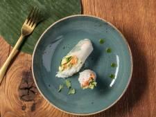 Wat Eten We Vandaag: Vietnamese summer rolls met banaan, avocado en komkommer