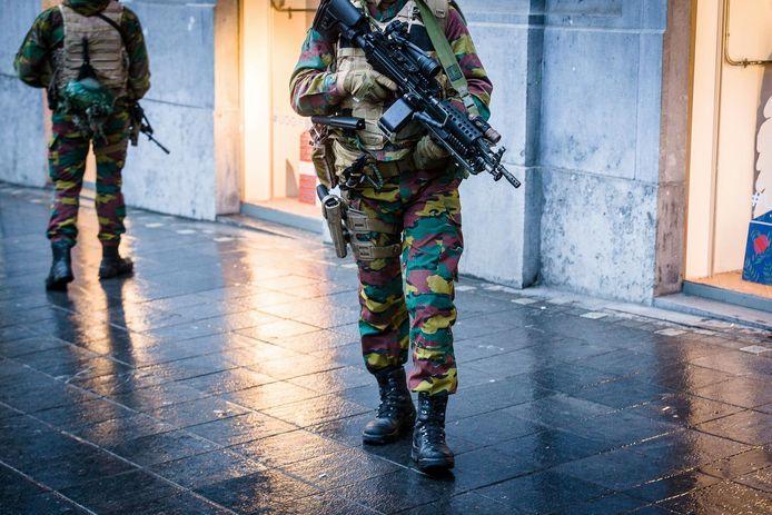 """""""La défense n'est plus en mesure d'envoyer environ 1.800 soldats dans les rues sept jours par semaine"""", selon le président du syndicat Yves Huwaert (ACMP-CGPM)."""