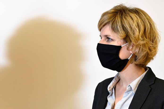 La Ministre wallonne de l'Environnement, Céline Tellier (Écolo).
