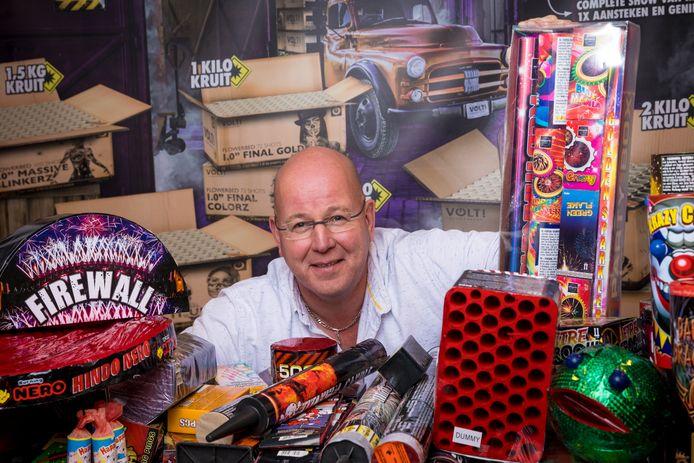 """Vuurwerkverkoper John Wagenvoort: ,,Waarom zoveel herrie schoppen over een feestje dat maar een paar uur per jaar duurt?"""""""