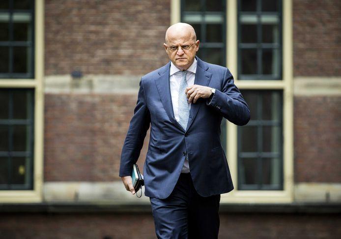 20Ferdinand Grapperhaus, demissionair minister van Justitie en Veiligheid.