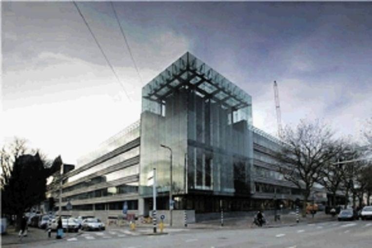 Den Haag, Ministerie van Financiën. (Ontwerp: Meyer en Van Schooten Architecten) Beeld