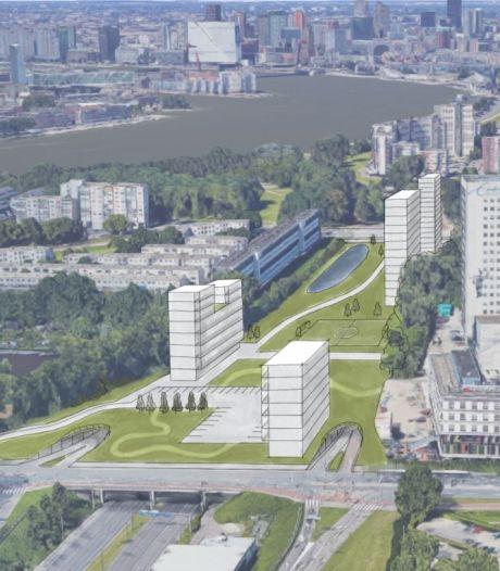 Stapelen als nieuw toverwoord in Rotterdam; wegen overkappen met woningen, winkels en groen erboven