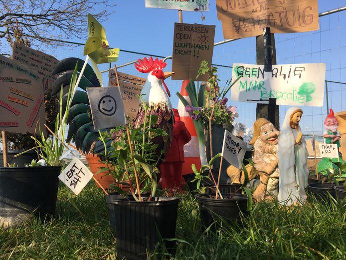 De kabouters kregen hulp van de planten- en dierenwereld.
