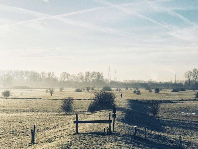 Winterlandschap Wageningen
