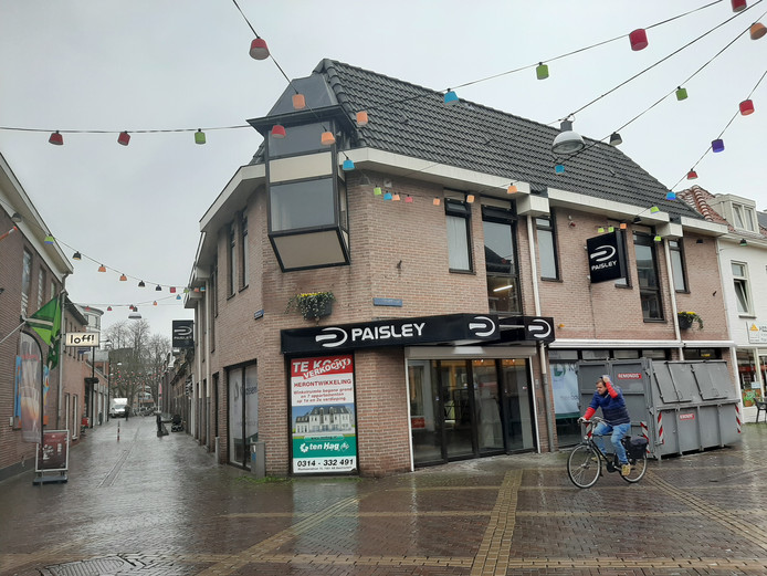 Het pand op de hoek van de Heezenstraat en de Walstraat aar Gaabs vanaf 6 maart in zit.