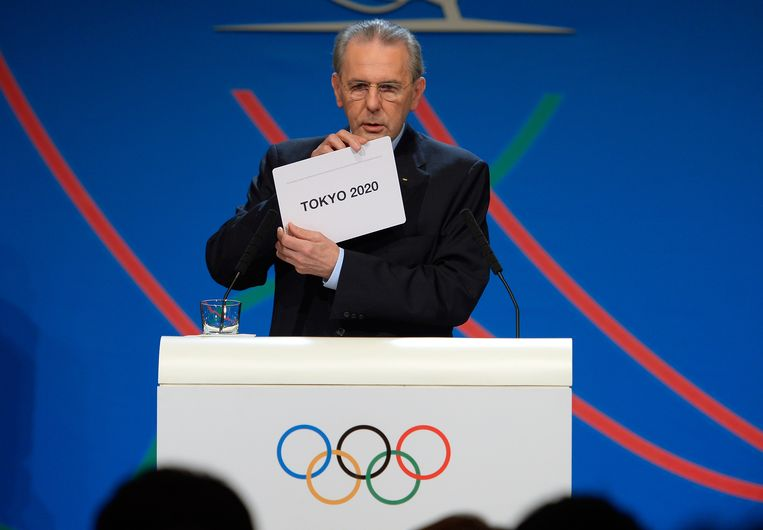 Rogge in 2013. Beeld Getty Images