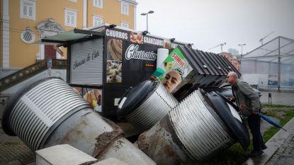 Dodental door storm Elsa stijgt tot 8 in Spanje en Portugal. 95.000 Franse gezinnen zonder stroom