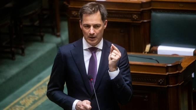 """Premier De Croo bevestigt: """"Coronapremie onderhandeld per bedrijf óf per sector"""" na discussie over loonakkoord regering"""