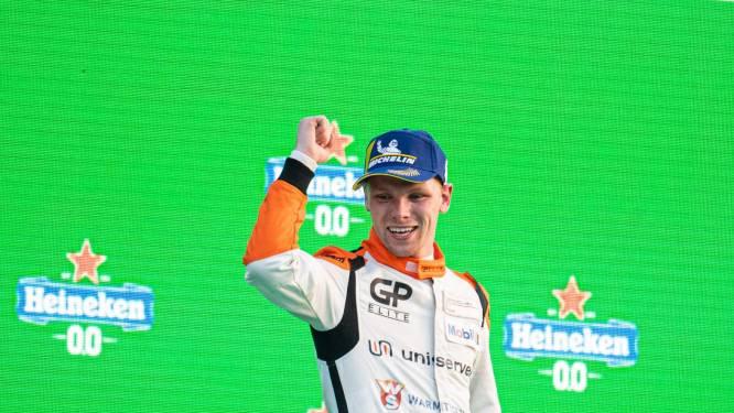 Porsche Supercup-kampioen Larry ten Voorde wint laatste race van seizoen op Monza