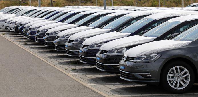 Ongeregistreerde Volkswagens.