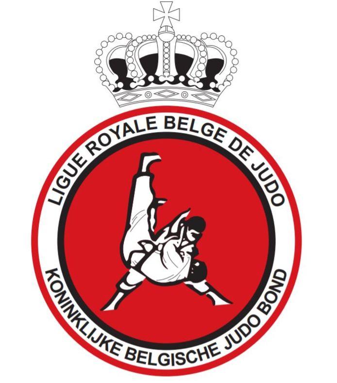 Het logo van de Koninklijke Belgische Judo Bond (KBJB)