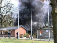 Brand bij jeu de boules-club Oldenzaal vermoedelijk aangestoken